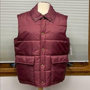 NWT Vintage Current Seen mauve puffy vest